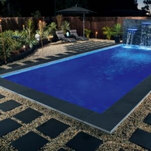 bluestone honed pool paving