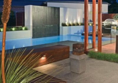 Raven Granite Pool Paving