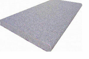 raven grey bullnose granite coping tile