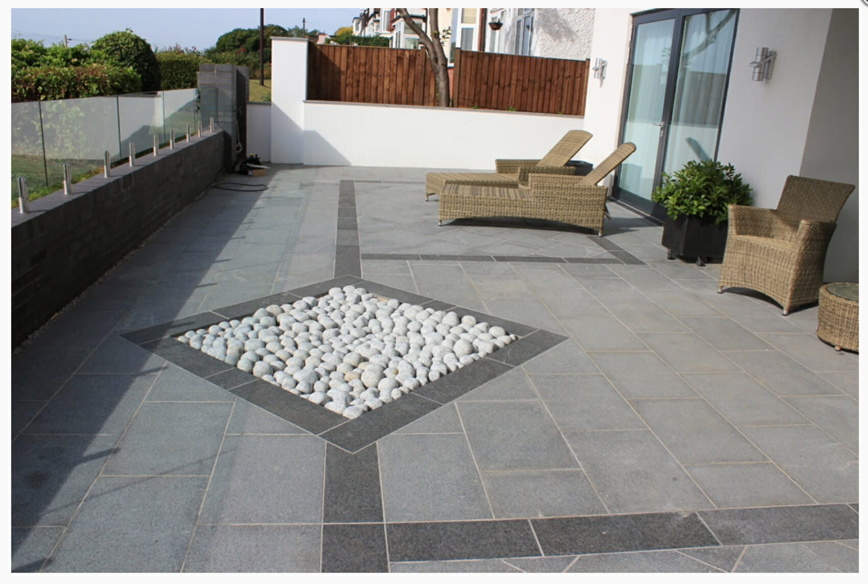 Spaces Bruges Outdoor Grey Tile: Image Gallery - GRANITE SUPPLIER AUSTRALIA