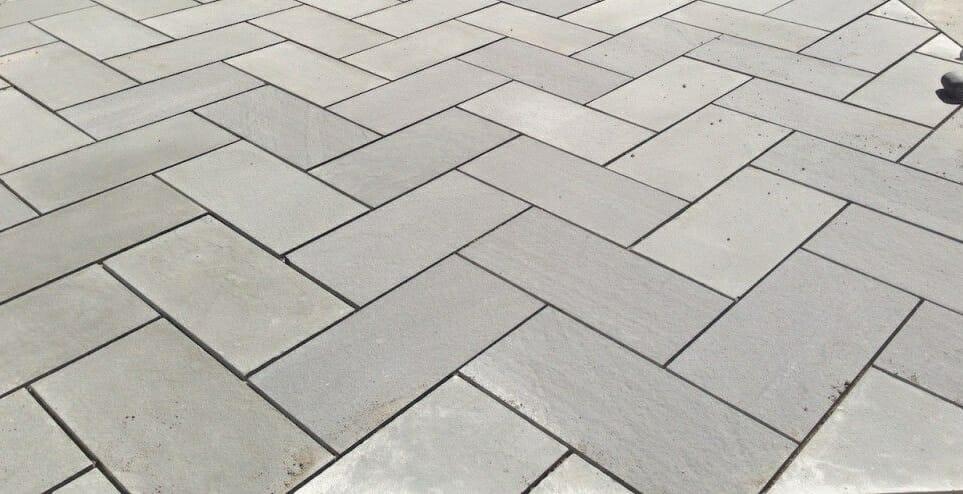 Herringbone Paving granite pavers melbourne. sydney, brisbane, canberra, adelaide, hobart