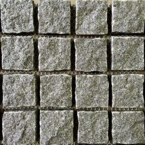 Raven Grey Natural Split Cobblestones-min