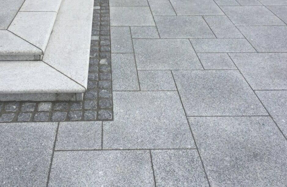 basket weave granit paving pavers - melbourne, sydney, brisbane, canberra, adelaide