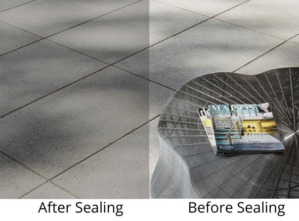 granite pavers- how to seal